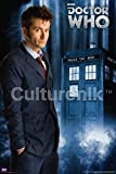 Doctor Who The Tenth Doctor (David Tennant) Sci Fi British TV Television Show Poster Print 24x36