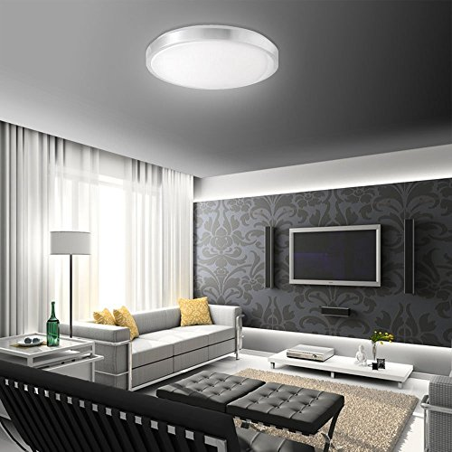 15w led panel warmweiß / kaltweiß moderne deckenlampe wandlampe ... - Moderne Deckenleuchten Fur Wohnzimmer