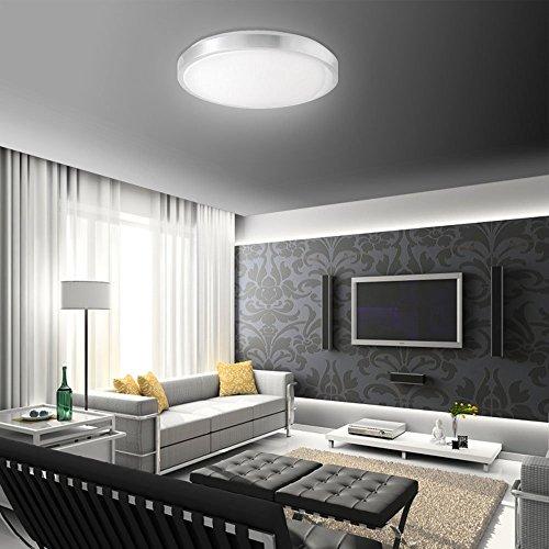 SAILUN 15W LED Panel Warmweiß/Kaltweiß Moderne Deckenlampe Wandlampe ...