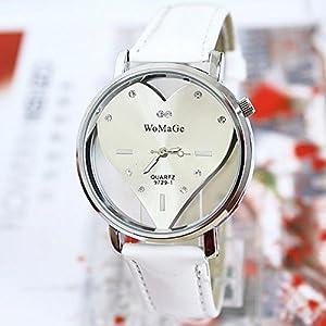Amazon.com: LNTGO Reloj Women Dress Rhinestone Watch Fashion Ladies