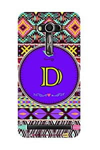 ZAPCASE PRINTED BACK COVER FOR ZENFONE 2 LASER- Multicolor