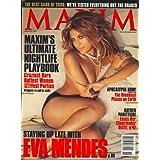 Maxim, November 2007 Issue [Eva Mendes]
