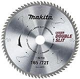 マキタ チップソー ダブルスリット 外径165mm 刃数72T 高剛性タイプ(造作用) A-42771