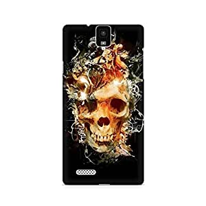 Mobicture Skull Abstract Premium Printed Case For InFocus M330