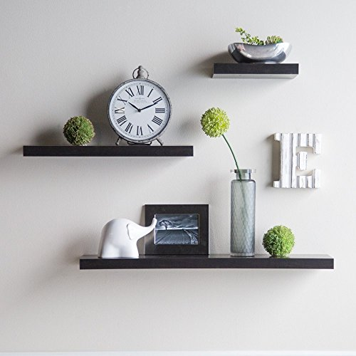 Hudson Easy Mount Floating Shelves - 3 pk. (36 in./24 in./12 in.) -