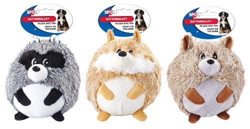 ethical-products-spot-butterballs-woodland-assorted-6inches-shaggy-pushed-ball