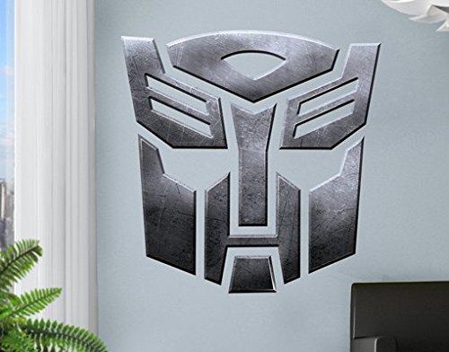 Wandtattoo Transformers Autobots Metallmaske Kinderzimmer Junge Drachen, Größe:35cm x 35cm online kaufen