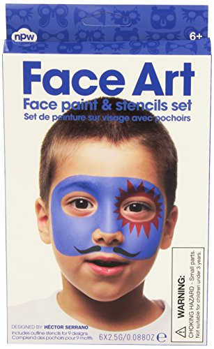 Boy Face Art Face Painting Kit - 1