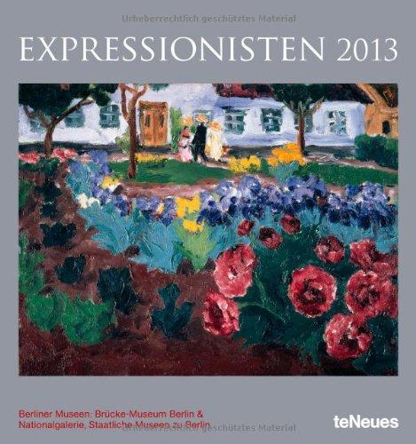 2013 Expressionism Poster Calendar