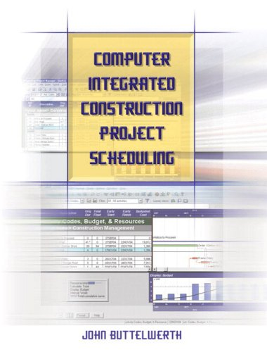 Computer Integrated Construction Project Scheduling