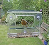 Clear Hanging Perspex Bird Feeder