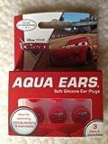 Aqua Ears Disney Cars Soft Silicone Ear Plugs 3 Pairs