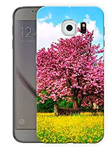 "Spring Tree Printed Designer Mobile Back Cover For ""Samsung Galaxy S6"" (3D, Matte, Premium Quality Snap On Case)"