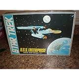Vintage 1968 Star Trek Large Box U.S.S. Enterprise Space Ship Model Kit By Amt