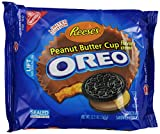 Oreo Cookies Reese's Peanut Butter Cup Flavor Creme 345g Limited Edition One Pack