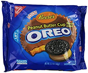 Oreo Reese's Peanut Butter Cup Creme, 12.2 Ounce