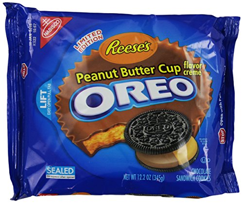 Oreo Reese's Peanut Butter Cup Creme, 12.2 Ounce (Oreos Red Velvet compare prices)