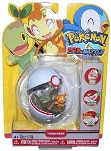 Pokemon Toy - Pop n Battle Pokeball Series 5 - TEDDIURSA