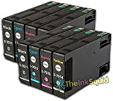The Ink Squid 2 Sets T7011-4 Epson Compatible Pyramid Non OEM Ink Cartridges New#Epson WorkForce Pro WP-4515
