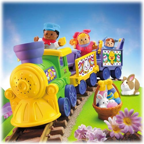 Fisher Price Little People Easter Train Set-New In Box