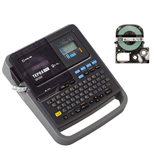 キングジム ラベルライター テプラPRO ダークグレー SR250A