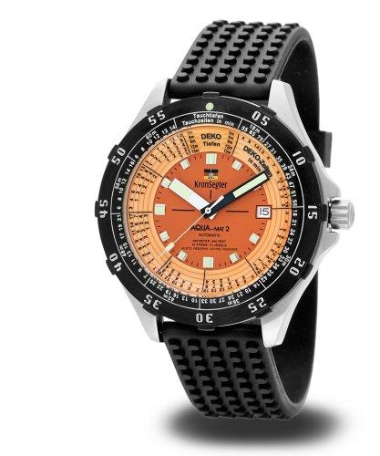 Kronsegler Aqua-Mat2 Taucher-Automatik MKS806 Orange