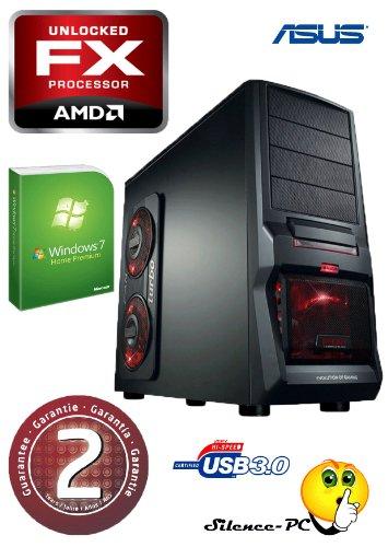 Schnäppchen!! ANKERMANN-PC Hornet Gamer AMD FX-4100 (4x 3.60GHz) | EVGA NVIDIA GeForce GTX 650Ti 2048MB DDR5 | 8GB RAM DDR3 | Cardreader 52in1 | 2,0TB HDD SATA3 | W-LAN intern | MSI Board USB3.0 | 24xDVD Writer | Netzteil 600W FSP | Case HORNET 0300NG | Win 7 Home Premium 64 Bit | 2 Jahre Garantie