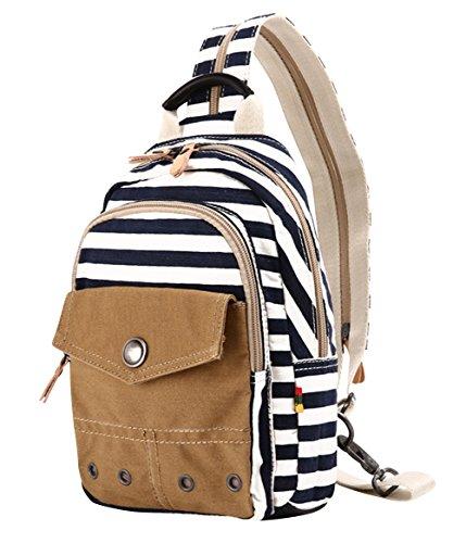 Korean New Women'S Trendy Leisure Canvas Travel Roomy Backpack