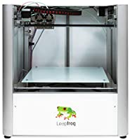 Leapfrog Creatr Dual-Extruder Fully Assembled 3D Printer, 200 x 270 x 230 mm Maximum Build Dimensions 0.05-mm Maximum Resolution; ABS, Laybrick, Nylon, PLA, and PVA Filament by Leapfrog