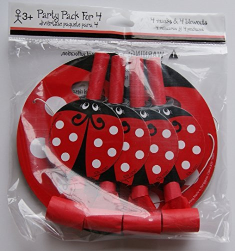 Children's Birthday Party Favor Pack - Ladybugs