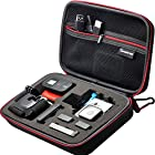 Smatree® SmaCase G160 EVA Carrying and Travel Case (8.6 X6.7 X2.7) with Foam for Gopro® HD Hero3+, 3, 2, 1 Camera camcorder and Essential Accessories - Black
