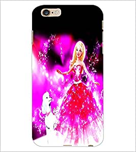 PrintDhaba Fairy Barbie D-1046 Back Case Cover for APPLE IPHONE 6S (Multi-Coloured)