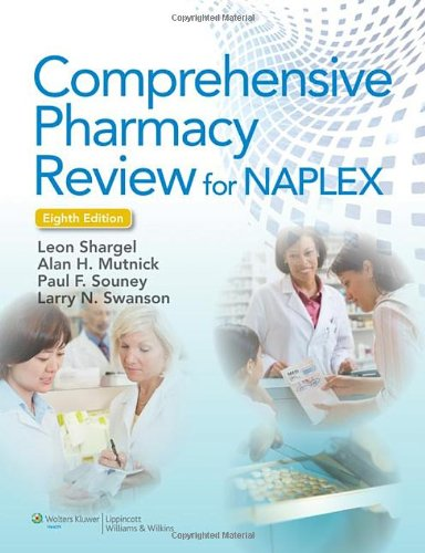 Comprehensive Pharmacy Review For Naplex (Point (Lippincott Williams & Wilkins)) front-925002