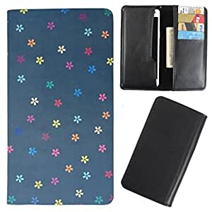 DooDa - For Lenovo S820 PU Leather Designer Fashionable Fancy Case Cover Pouch With Card & Cash Slots & Smooth Inner Velvet