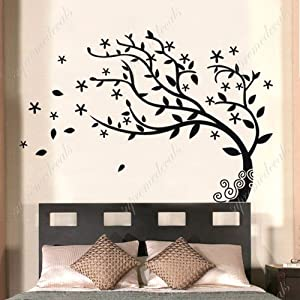Amazon.com - Custom Color PopDecals - Bedroom decor must have ...