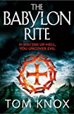 Cover of The Babylon Rite by Tom Knox 0007344023