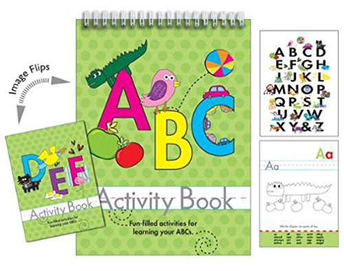 iscream ABC 96-page Activity Book with Picture Changing Cover - 1