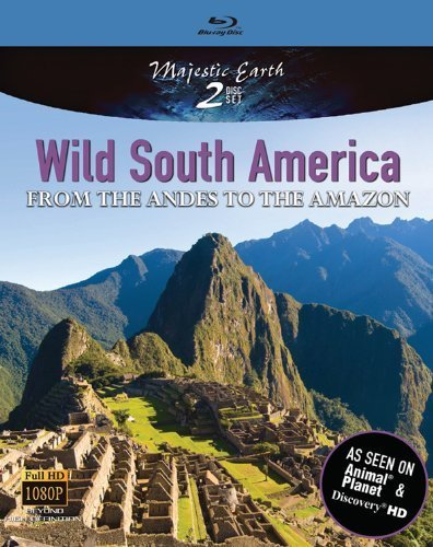 Wild South America: From the Andes to the Amazon [Blu-ray] by Magic Play Entertainment