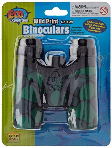 Wild Republic Wild Print Binoculars Crocodile Print