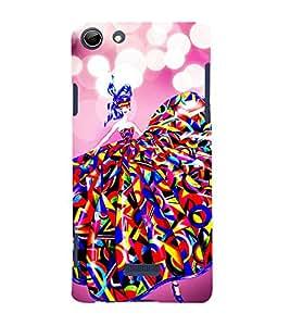 Lovely Girl 3D Hard Polycarbonate Designer Back Case Cover for Micromax Canvas Selfie 3 Q348