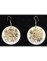 Designer Shell Earrings - Shell