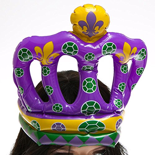 Mardi Gras Crown Inflate - 1