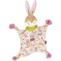 sigikid, Mädchen, Schnuffeltuch Hase, Bungee Bunny, Rosa/Bunt, 48933