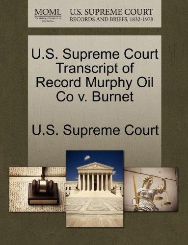us-supreme-court-transcript-of-record-murphy-oil-co-v-burnet