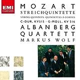 モーツァルト:弦楽五重奏曲第3K.515&第4番K.516