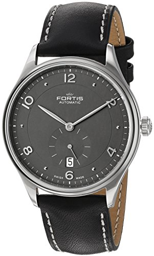 Fortis-Mens-9012011-L01-Hedonist-Analog-Display-Automatic-Self-Wind-Black-Watch