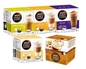 Nescafe Dolce Gusto Sweet Dreams Set, 40 Capsules 20 servings