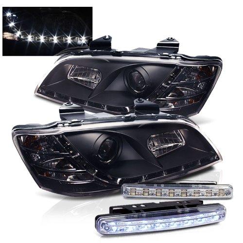 2008-2010 PONTIAC G8 PROJECTOR HEADLIGHTS HEAD LIGHTS + 8 LED FOG BUMPER LAMPS (Pontiac G8 Lights compare prices)