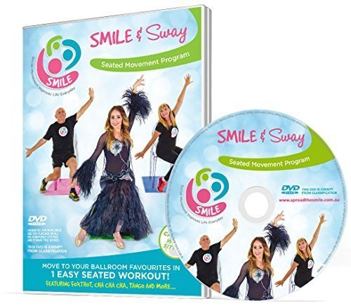 Smile & Sway - Workout By Dancing in Your Chair - Low Impact Exercise in Disguise