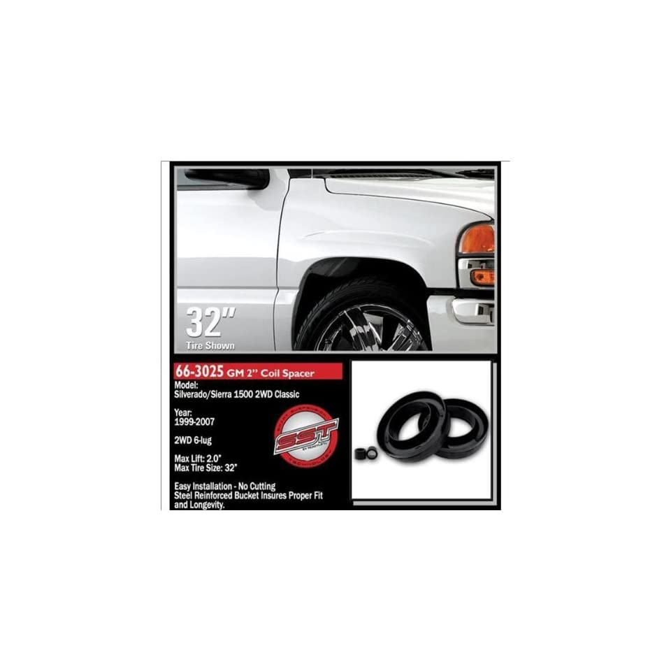 Ready Lift Front Leveling Lift Kit 99 07 Chevrolet